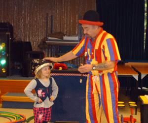Teaching small girl magic