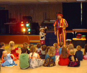 Teaching kids magic