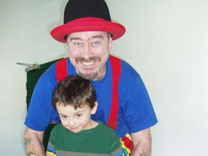 Edmund Nunan with kid