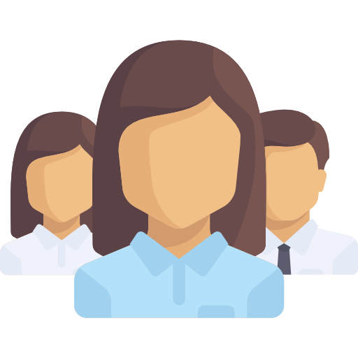 Group of workers icon